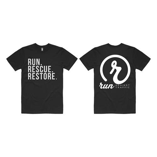 Run. Rescue. Restore. Black