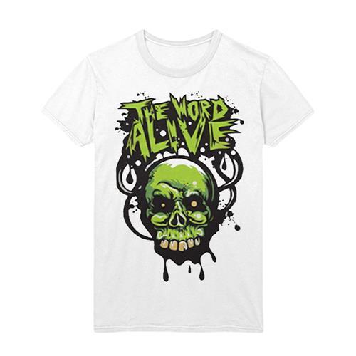 Green Skull White *Final Print*