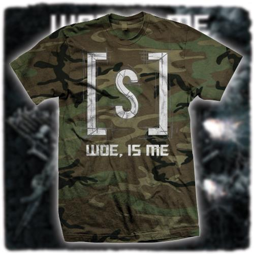 Woe, Is Me - Logo Camo