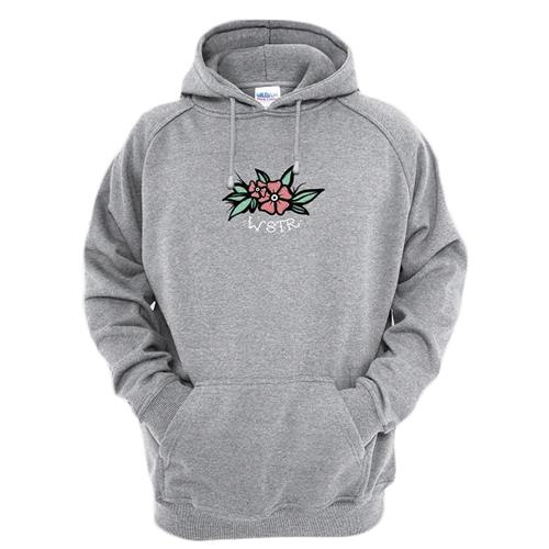 Floral Heather Grey
