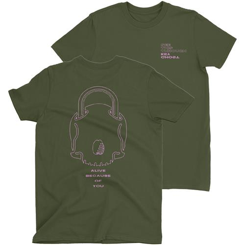 See This Through Military Green