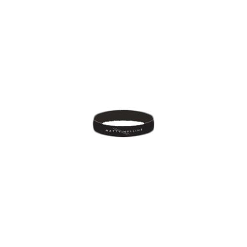 Logo Black Wristband