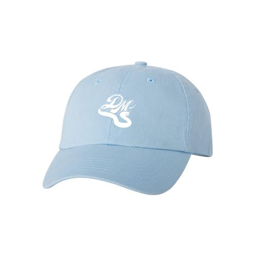 Snake Logo Baby Blue Dad Hat