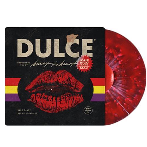 Dulce Red/Purple W/Cream Splatter LP