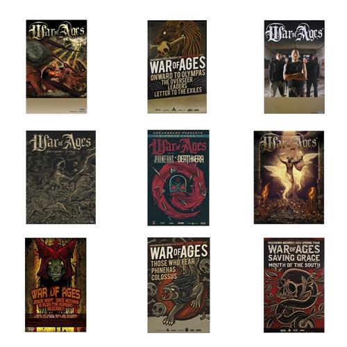 War Of Ages - Poster Bundle!