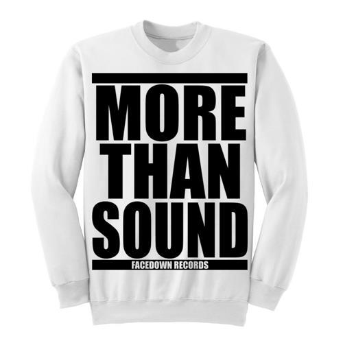 More Than Sound White *Sale! Final Print*