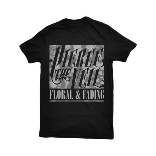 Floral Fading Black