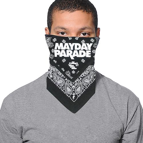 Black Lines Bandana - Face Covering                $10 and under