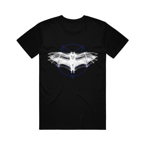 Bat Pentagram Black