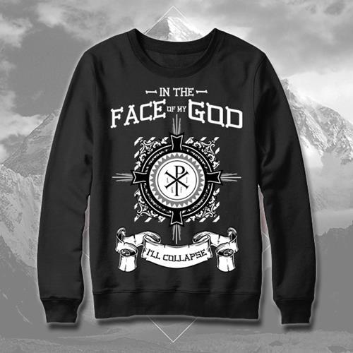 Collapse Black Crewneck Sweatshirt