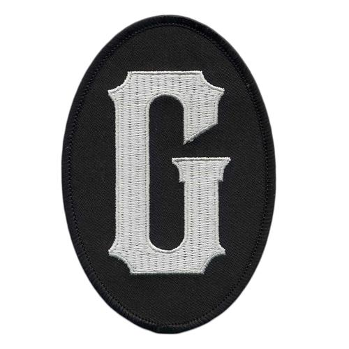 G Embroidered Patch