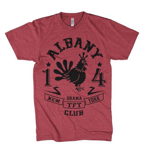 Albany Drama Club Mascot Heather Red