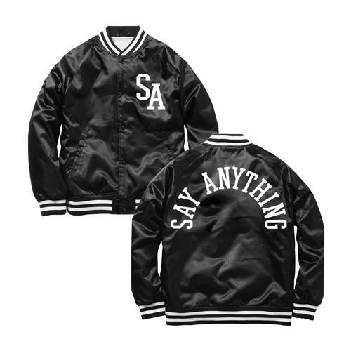 SA Logo Black Satin
