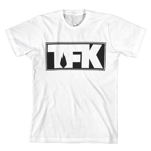TFK Outline Logo White