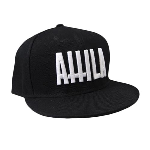 Crosses Logo Black Snapback Hat