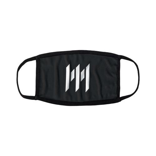 Emblem Black Face Mask