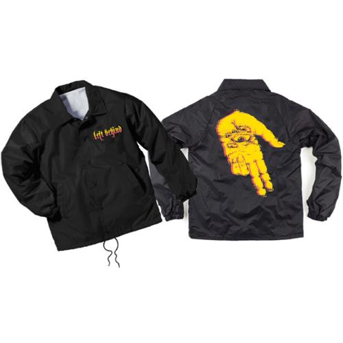 Seeing Hell Black Coaches Windbreaker