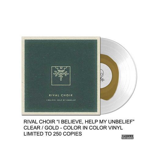 I Believe, Help My Unbelief Clear/Gold Vinyl