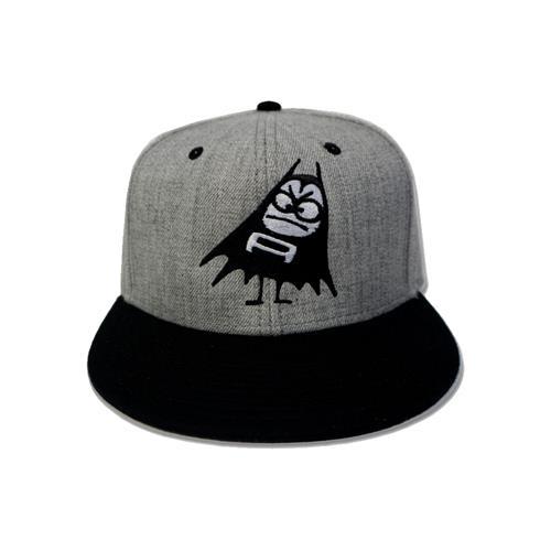 The Aquabats Bat Grey/Black Snapback