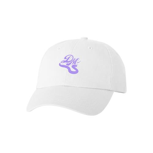 Snake Logo White Dad Hat