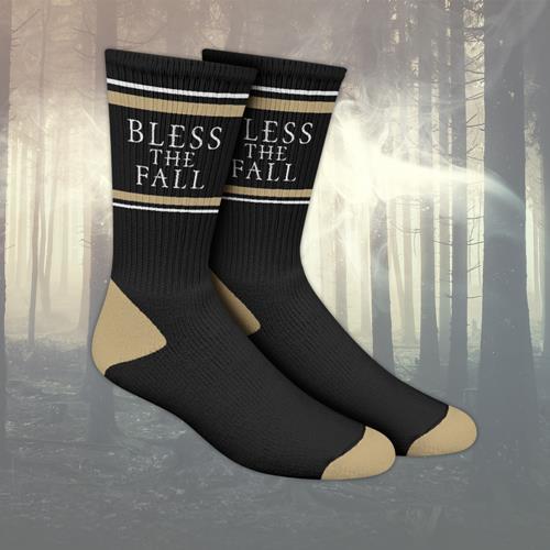 Blessthefall Band Logo Black