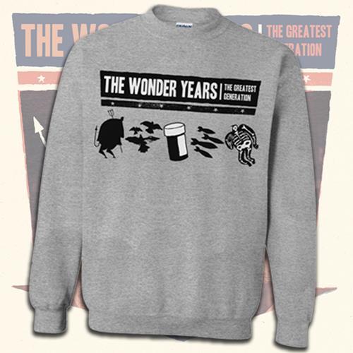 TGG Heather Grey Crewneck Sweatshirt