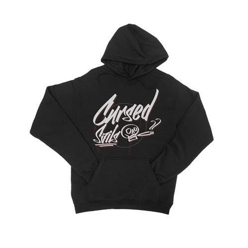 Graffiti Black Hooded Pullover