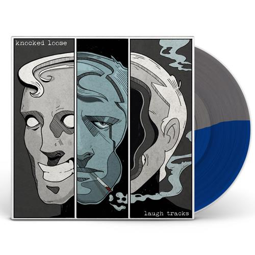 Laugh Tracks Half Grey/Half Royal Blue
