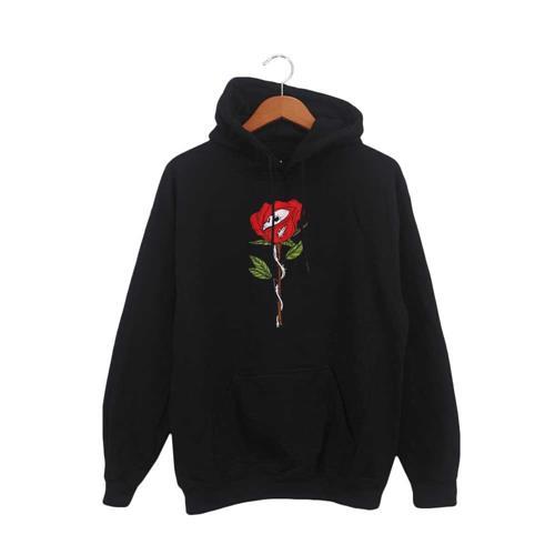 Barbed Rose Black