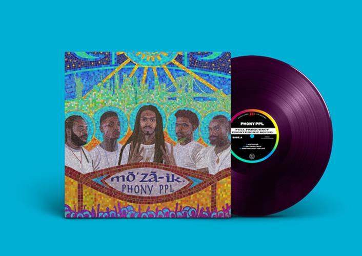 mō'zā-ik. Vinyl + DD