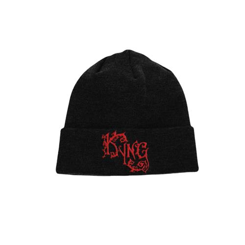 Breathe In The Water Black Beanie