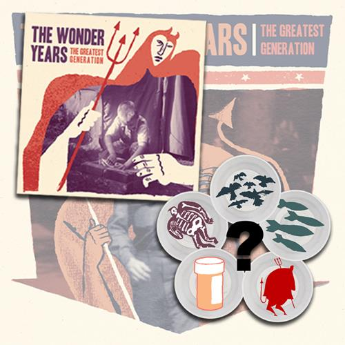 The Wonder Years Poster+7inch
