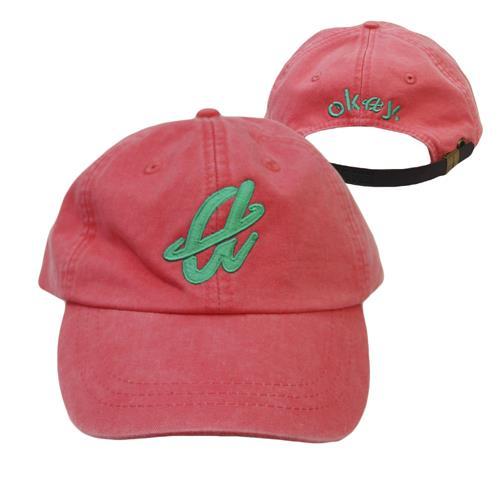 Okay. Pink Dad Hat