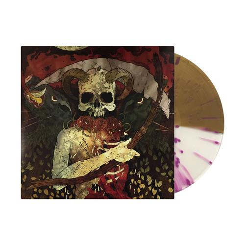 Self-Titled Half Ultra Clear & Half Gold With Classic Black Splatter