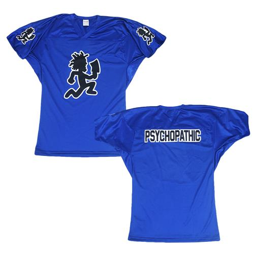 Hatchetman Psychopathic Royal Blue Football Jersey