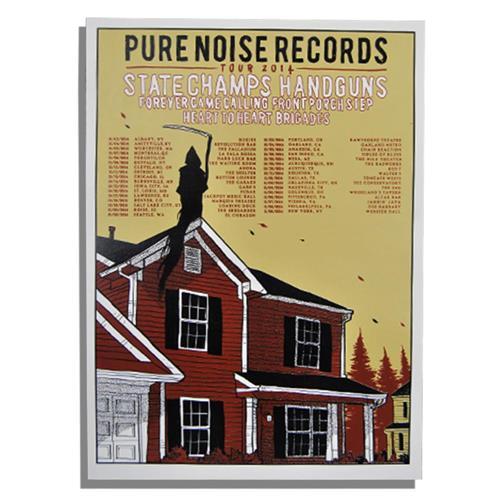 Pure Noise Pure Noise Tour 2014  W/  Tube