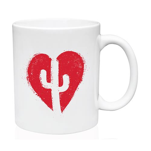 Heart White Mug