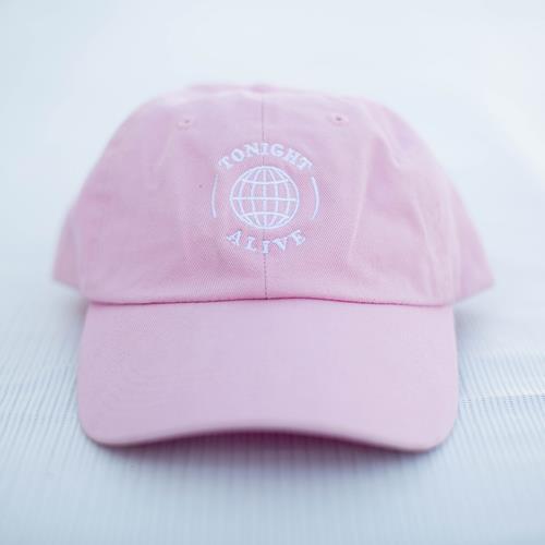 Globe Pink Dad Hat