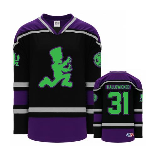 Hallowicked Purple-Black-Silver Hockey