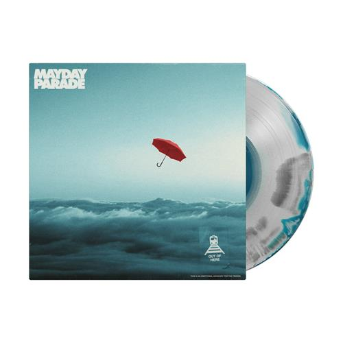 Out Of Here 12 inch Tri-Color A/B Smashed Vinyl LP