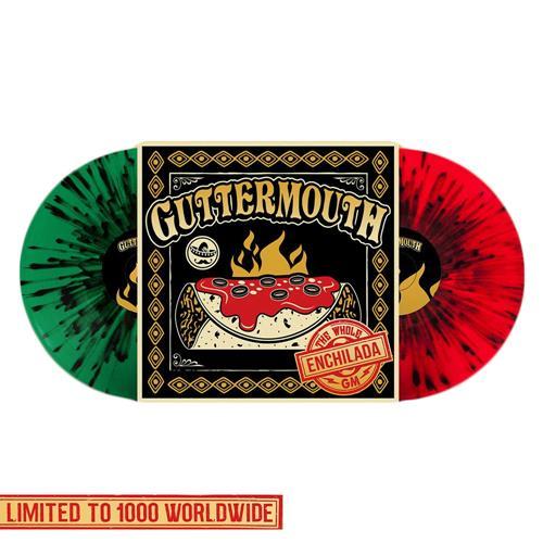 The Whole Enchilada Red & Green With Black Splatter Vinyl 2X LP