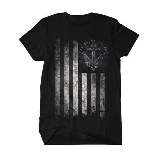 Anchor Flag Black T-Shirt *Final Print!*