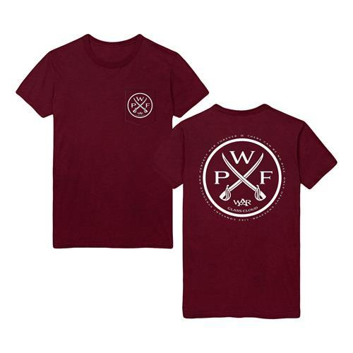 PWF Crest Maroon T-Shirt