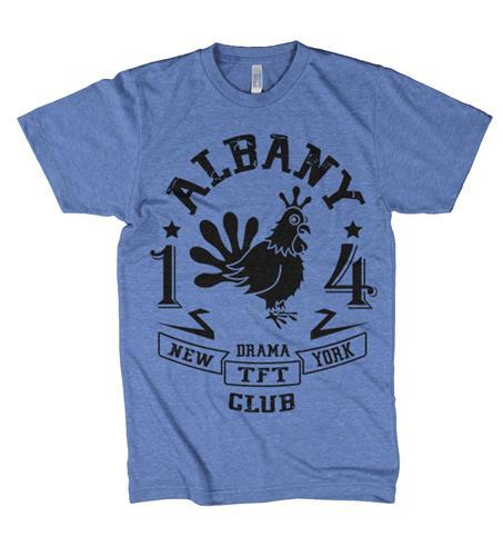 Albany Drama Club Mascot Heather Blue