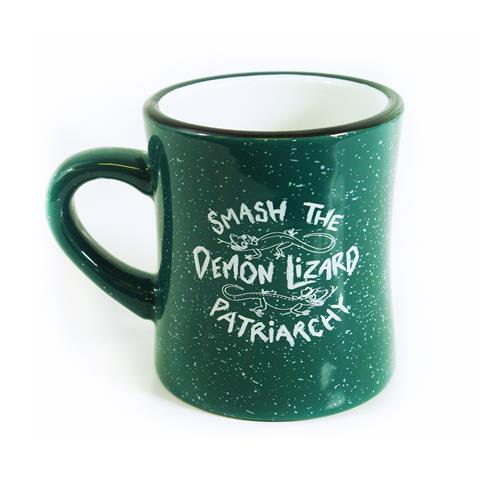 Demon Lizard Green Mug