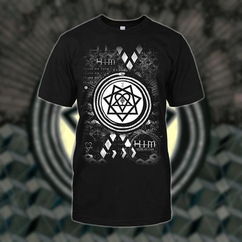 Snake Tears Black T-Shirt