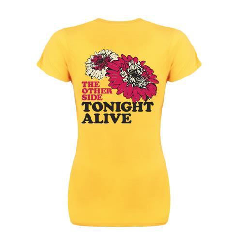 Flowers Yellow Girl's Shirt