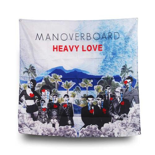 Heavy Love Banner Wall Flag