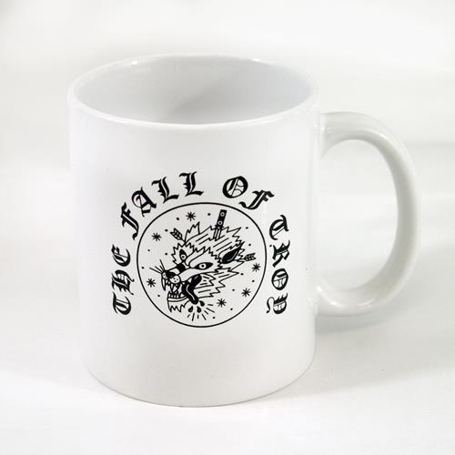 Wolf White Coffee Mug