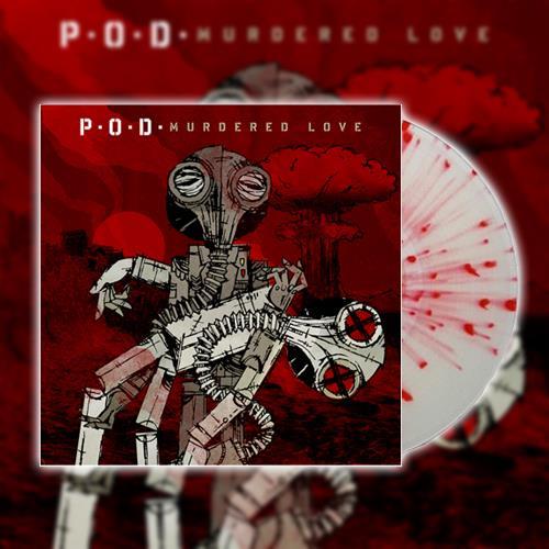 Murdered Love - Clear/Red Splatter LP